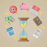 Time is Money concept. Royalty Free Stock Photography