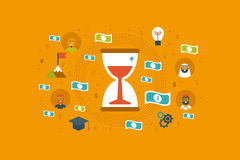 Time Money Concept Royalty Free Stock Photo