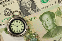 Time and money concept image Stock Photo