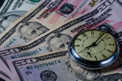 Time is Money - concept image Stock Image