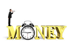 Time is money concept. Stock Photography