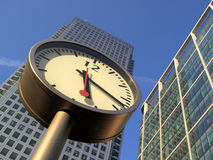 Time Is Money In Docklands Canary Wharf Royalty Free Stock Image