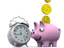 Time is money. Financial concept Stock Image
