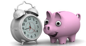 Time is money. Financial concept Stock Images
