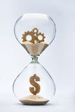 Time is money. Gears of success Stock Images
