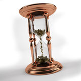 Time is money hourglass Stock Photos