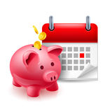 Time and money icon Royalty Free Stock Photo