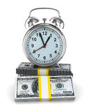Time is money. Isolated image Stock Images