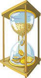Time is money - isolated vector illustration Stock Image