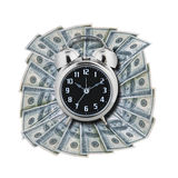 Time is money, isolated Stock Image