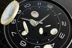 Time and money Royalty Free Stock Images