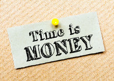 Time is Money Message Royalty Free Stock Photo