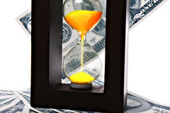 Time and money running out.  Stock Images