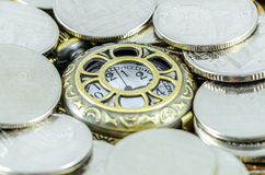 Time is Money. Time spent on making money (Time is Money Royalty Free Stock Photo
