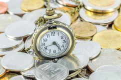 Time is Money. Time spent on making money (Time is Money Stock Images