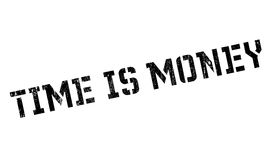 Time is money stamp Royalty Free Stock Photography
