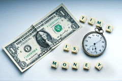 Time is money still Royalty Free Stock Photo