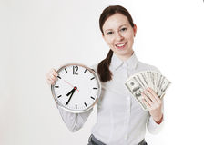 Time Is Money - Stock Image Stock Photos