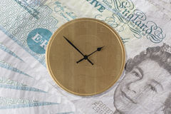 Time is Money - UK Version Stock Image