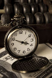 Time is money,vintage color. Royalty Free Stock Photos