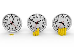 Time money Stock Photography