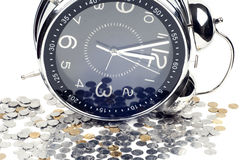 Time is money and wealth. Stock Photos