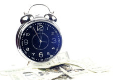 Time is money and wealth. Royalty Free Stock Image
