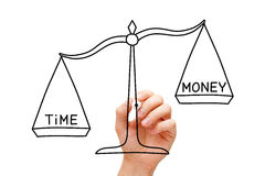 Time Is More Valuable Than Money Stock Images