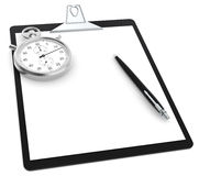 Time and motion study Royalty Free Stock Photo