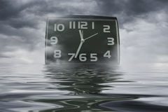 Time is moving like water - Abstract photo Royalty Free Stock Photography