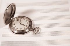 Time for Music Royalty Free Stock Photos