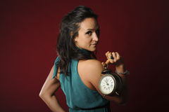 Time is naughty Royalty Free Stock Photography