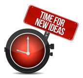 Time for new ideas concept Stock Photo