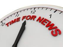 Time for news vector illustration