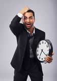 Time Is Not On My Side Stock Photo