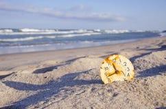 Time och havsbegrepp Arkivbild
