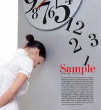 Time in office Royalty Free Stock Images