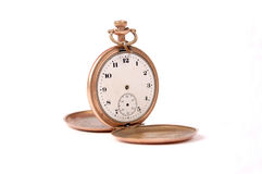 Time, old pocket watch from usa Royalty Free Stock Photo