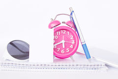 Time Organizer Background Royalty Free Stock Photo