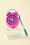 Time Organizer Background Stock Photography