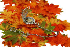 Time in our autumn years Stock Photo