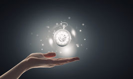 Time in our hands Royalty Free Stock Photography