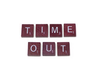 Time Out Royalty Free Stock Photos