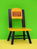 Time out chair stock photo