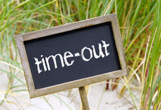 Free Time Out Sign Royalty Free Stock Photography - 34679227