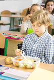 Time for packed lunch Royalty Free Stock Images
