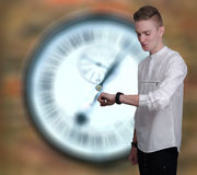 Time passes by Royalty Free Stock Photo