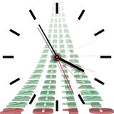 Time passing Royalty Free Stock Photography