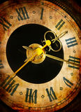 Time is passing. Old clock - time concept (picture in retro style Stock Photo