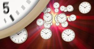 Time passing abstract concept stock footage